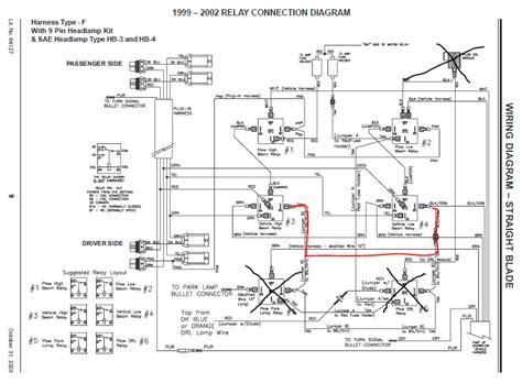 western plow headlight wiring diagram wiring diagram