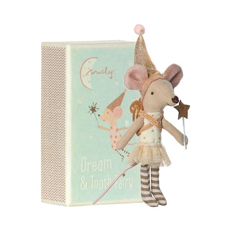 Kitchen Booth Furniture leo amp bella maileg tooth fairy mouse in a box girl