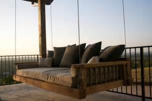 Cedar Patio Swing Swing Bed Porch Swing Outdoor Bed Hanging Bed Bed
