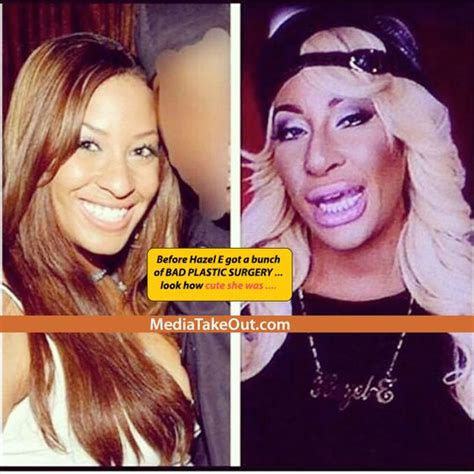 what type of hair does hazel from love and hip wow that blonde girl hazel from love and hip hop la really