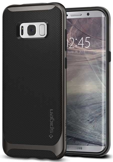 Samsung Galaxy S8 Spigen Rugged Capsule Soft Back New Top 15 Best Samsung Galaxy S8 Plus Cases And Covers Updated