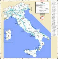 Italy Rail Map by Italy Railroad Map Myideasbedroom Com