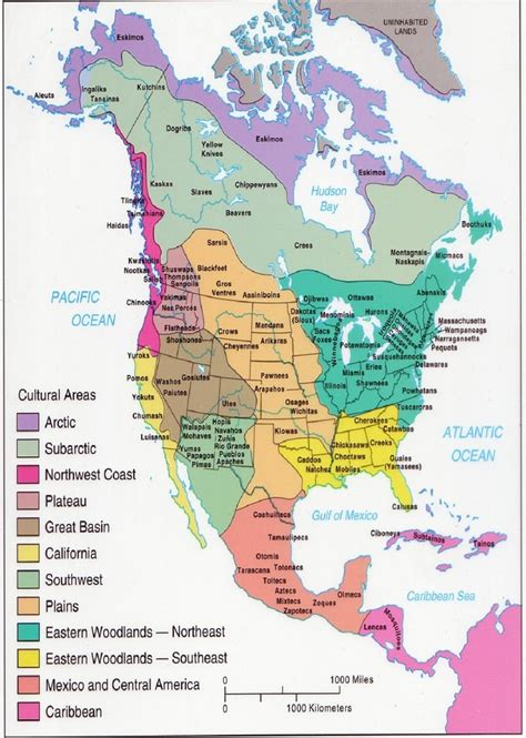 american tribal areas map american indians and nations territory map with