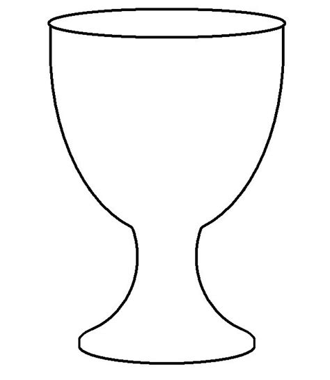 chalice coloring templates coloring pages