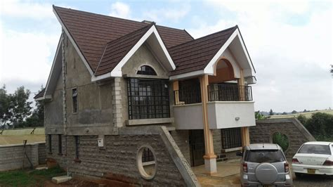 home design plans with photos in kenya the built 4 bedroom a house plan david chola architect
