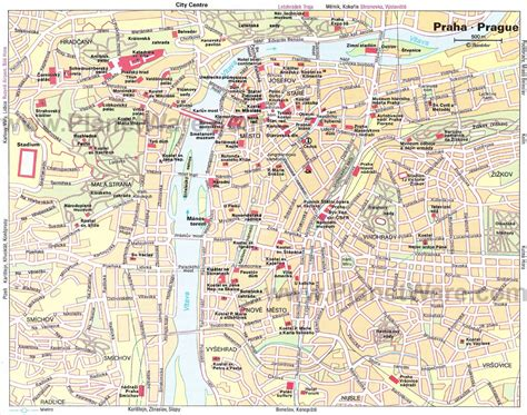 prague map 20 top tourist attractions in prague planetware