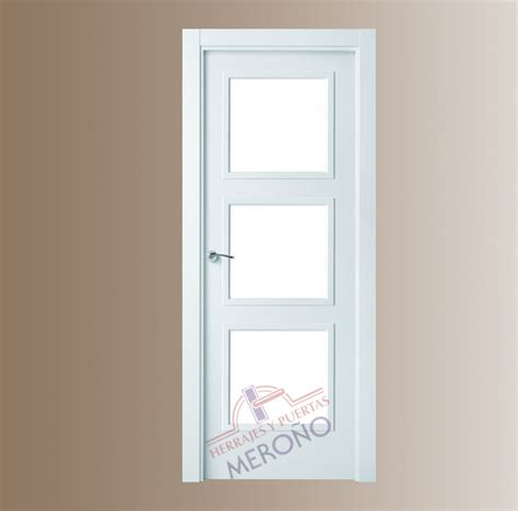 puertas blancas interior puertas lacadas blancas de interiores mod 9084 3 cuadros