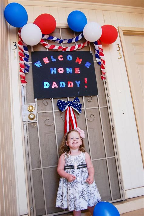 military welcome home decorations best 25 welcome home daddy ideas on pinterest diy