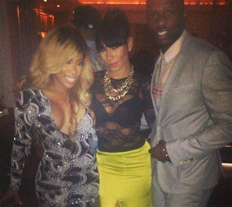 tiara from love and hip hop photos elle varner neyo tiara thomas hit the club for