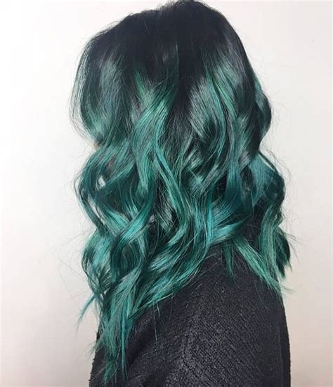 black hairstyles vancouver 17 best ideas about teal ombre hair on pinterest teal