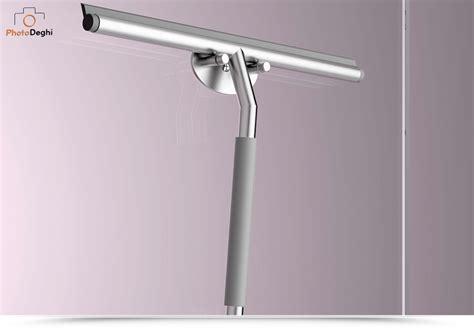 silicone box doccia lineabeta pulisci vetro in acciaio inox con supporto