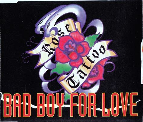 rose tattoo bad boy for love bad boy for 1992 reviews