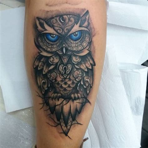 95 best photos of owl tattoos signs of wisdom 2017