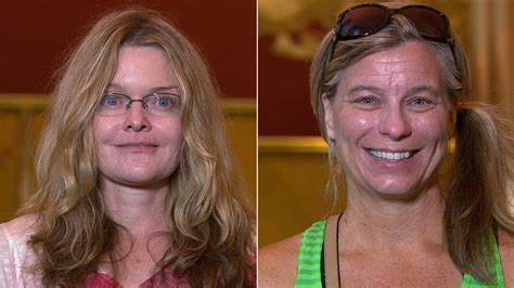 makeovers for women in their 40s two women in their 40s get younger looks thanks to ambush
