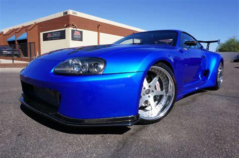 Toyota Supra Remake Toyota Supra Coupe 1994 Blue For Sale Jt2ja82j6r0015453