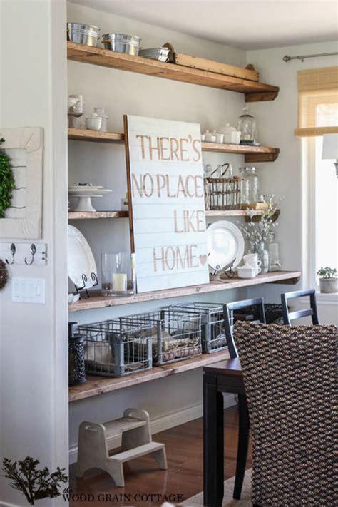 Rak Makan ini cara buat ruang makan minimalis agar jadi pusat