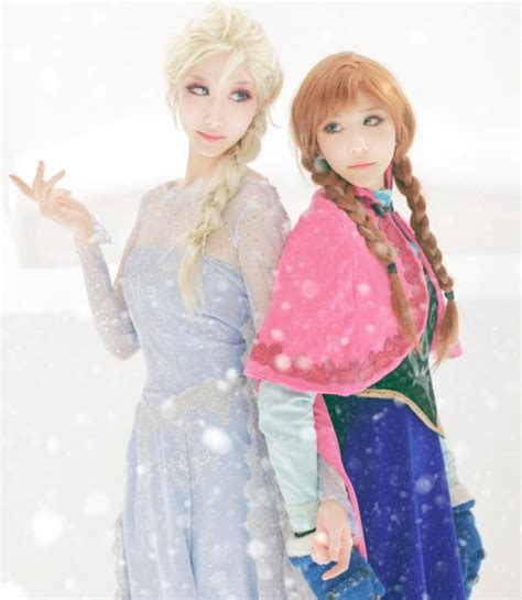 film elsa dan anna masih kecil 20 foto tercantik anna dan elsa frozen versi cosplay