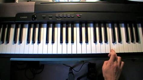 keyboard tutorial hallelujah leonard cohen quot hallelujah quot piano tutorial youtube