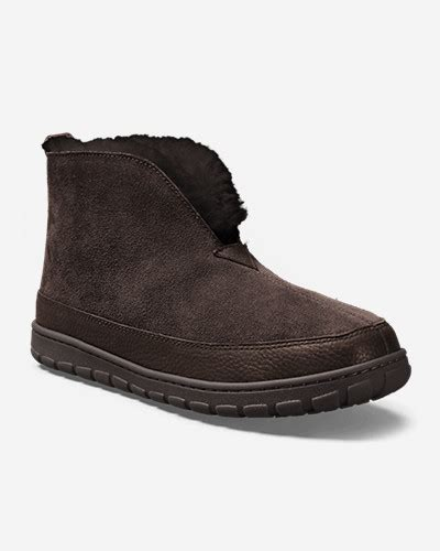 eddie bauer mens slippers s eddie bauer shearling boot slippers shop your way
