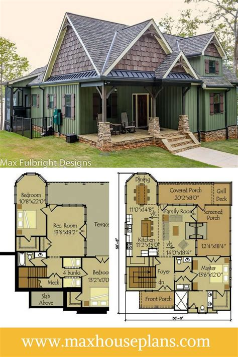 cabin floor plans with walkout basement 34 best images about cottage house plans on pinterest
