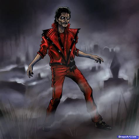 tutorial dance zombie how to draw michael jackson thriller thriller michael