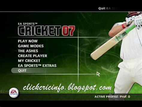 ea sports games full version free download ea sports cricket 2007 pc game full version free download