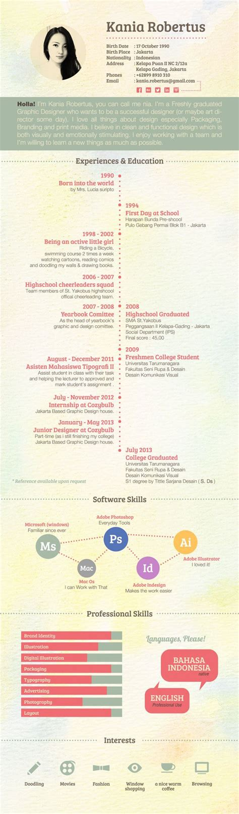 graphic design resume exles 2013 business infographic 30 exles of creative graphic