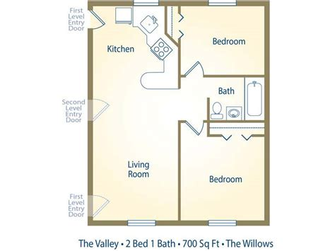 2 bedroom one bath apartment floor plans apartment floor plans pricing the willows westfield ma