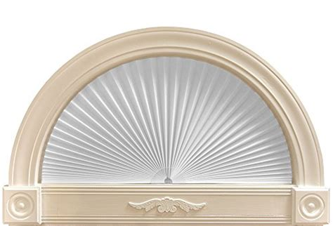 round half l shades arch light filtering paper shade window treatment white 72