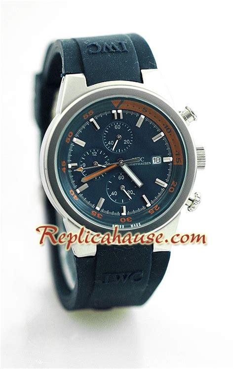Iwc Schaffhausen Aquatimer Chronograph Swiss Clone 1 1 Whate iwc aquatimer chronograph wristwatch iwc27 at a discounted price at just 199