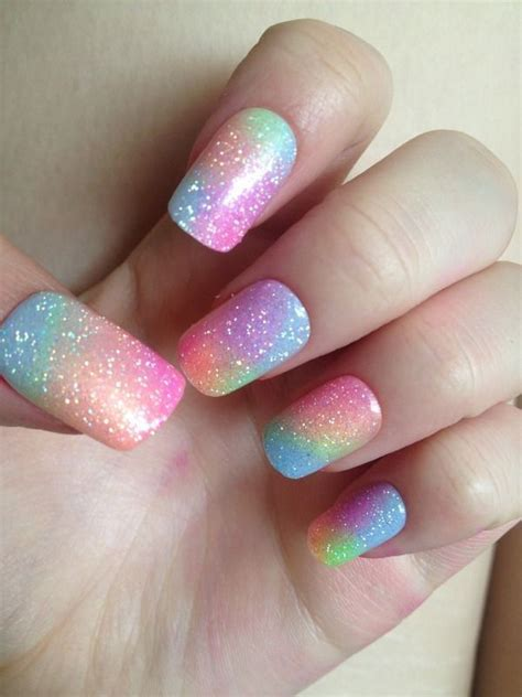 In A Nail Polishing Rut by 25 Best Ideas About Rainbow Nail On