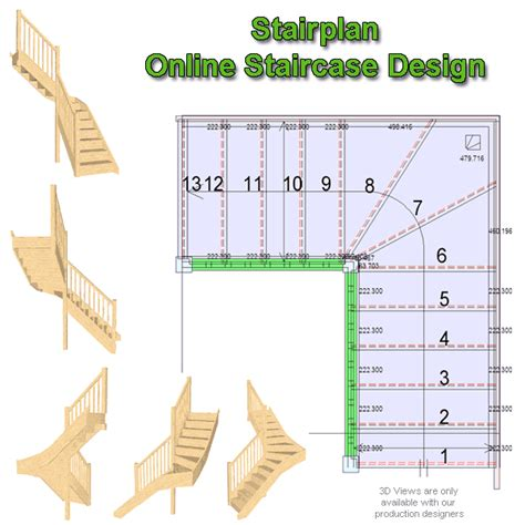 Online Staircase Design | staircase planner design you stair layout online stairplan