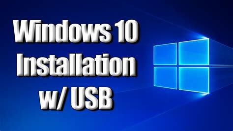 install windows 10 to usb flash drive yt 46816 how to install windows 10 w usb drive