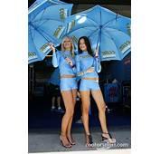 Charming Rizla Suzuki Girls At Czech GP