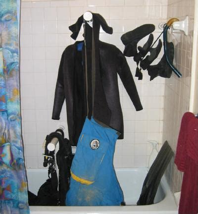Wetsuit Drying Rack by Suit Drying Rack