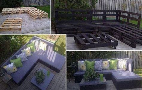 diy outside seating area diy outdoor seating made from pallets deck pergola