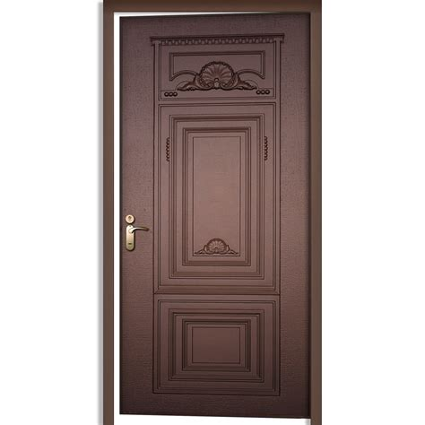 cast aluminum door single door prolumis - Single Door