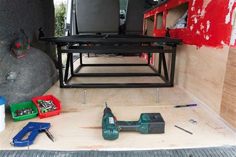 rock and roll bed how to fit a rock and roll bed vwt magazine
