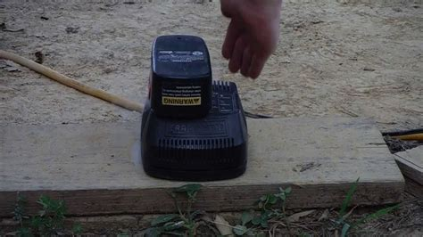 craftsman drill battery charger not working craftsman cordless drill battery charger fail
