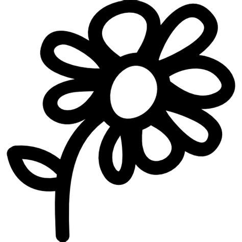 simbolo fiore flower symbol free nature icons