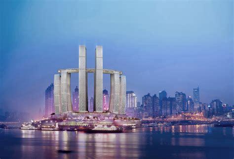 Iconic Architecture moshe safdie chongqing chaotianmen