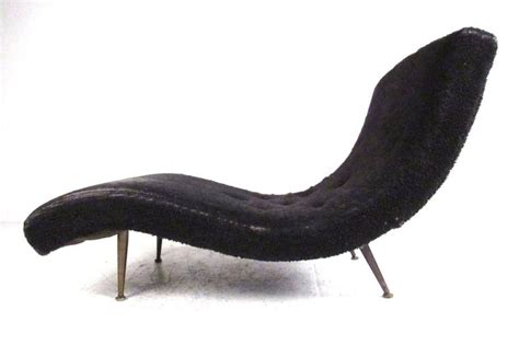 vintage wave chaise lounge vintage wave chaise lounge in the style of adrian pearsall