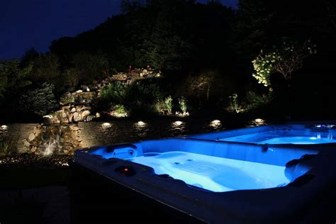 lighting landscape lighting island