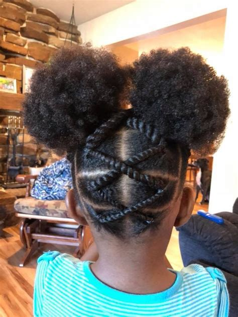 pin  marshaunda  baby girl hair cool braid