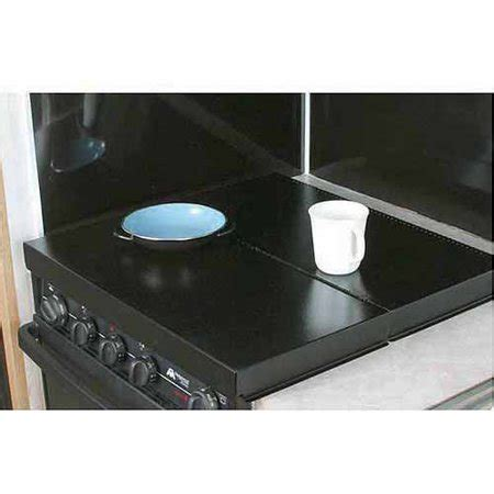 electric cooktop cover camco stove top cover black universal fit walmart