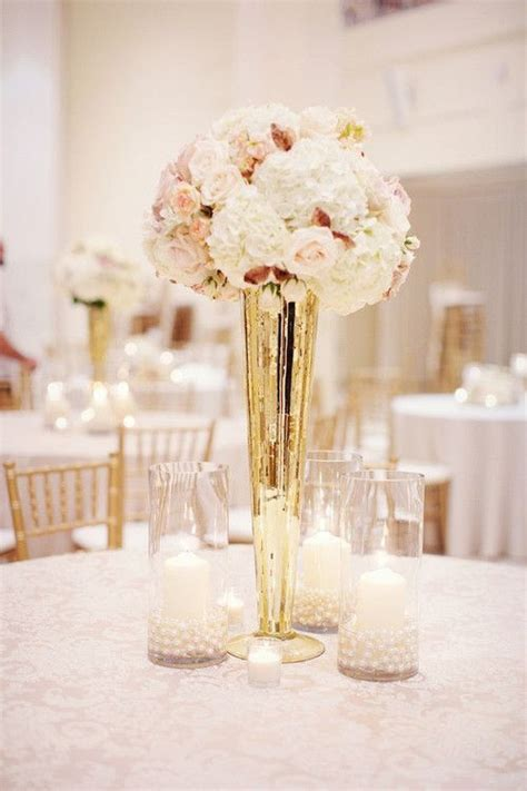 Wedding Vases by 25 Best Ideas About Gold Vase Centerpieces On