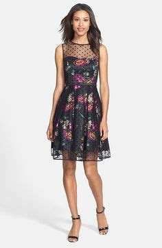 Eliza Polcadot Luxury 288 1 flare dress fit flare dress and flare on