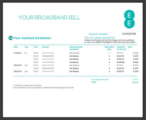 ee mobile phone number my bill explained home broadband home phone and ee tv ee