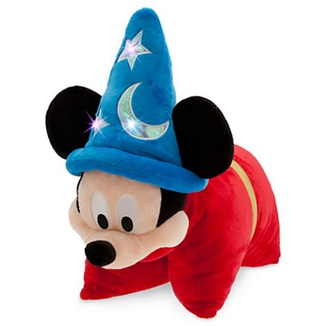 Disney Pillow by Disney Pillow Pet Sorcerer Mickey Mouse Light Up