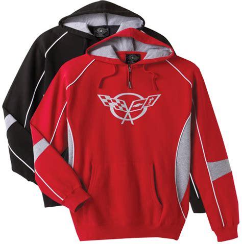 corvette sweatshirt c5 corvette hooded sweatshirt chevymall